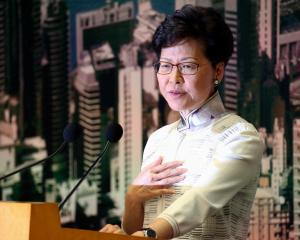 Hong Kong chief executive Carrie Lam. Photo: Reuters