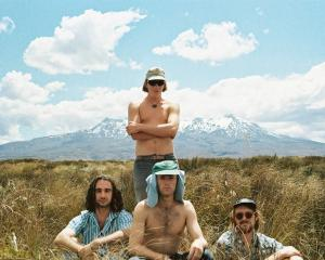Dunedin's Soaked Oats are back on tour this month having just released a new EP. Photo: Jacob...