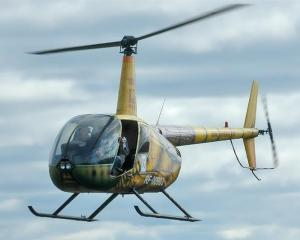 A Robinson R44.
