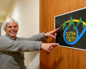New Clutha district youth worker Margaret Cardno says it is attitude that counts. PHOTO: RICHARD...