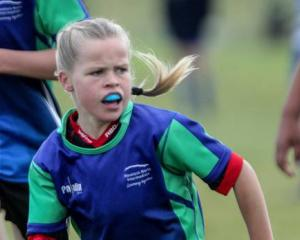 Briar Hales proved to be a speedy, confident presence at halfback. Photo: NZME.