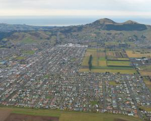 In the wider Taieri area, average house values grew 13.6% on May last year; pictured, Mosgiel...