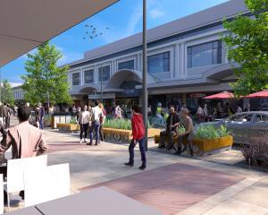 An image of the proposed George St design. PHOTO: SUPPLIED
