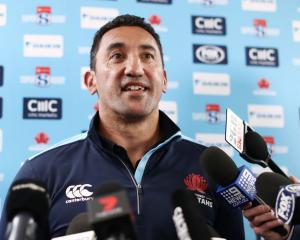 Daryl Gibson took over from Wallabies coach Michael Cheika in 2016 but has led the Waratahs to...