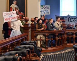 A packed public gallery made its feelings clear as councillors at yesterday's Dunedin City...