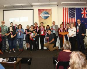 Gain communication and leadership skills with Toastmasters.