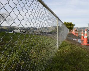 "An ""ugly"" new fence to stop illegal rubbish dumping at Curles Point, near St Leonards, will annoy..."