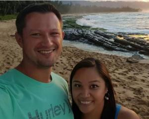 David and Michelle Paul, pictured in Fiji shortly before their deaths. Photo: Supplied