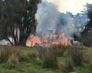 At least 16 firefighters, two appliances, a rural fire water tanker and an operational support...