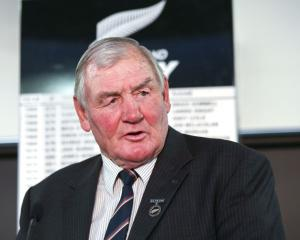 Sir Brian Lochore. Photo: Getty