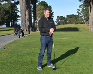 New Golf Otago chief executive Mahal Pearce at St Clair Golf Club yesterday. Photo: Linda Robertson