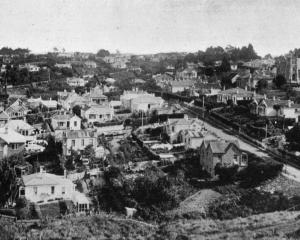 A view of Maryhill, Mornington. - Otago Witness, 25.6.1919