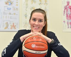 Otago Gold Rush captain Natalie Smith takes a break in her physio room to talk basketball...