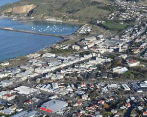 Oamaru and the Oamaru Harbour. Photo: ODT