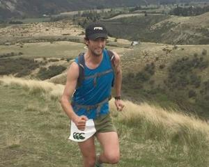 Bannockburn mountain runner Richard Ford runs through the Gibbston valley. PHOTO: SUPPLIED