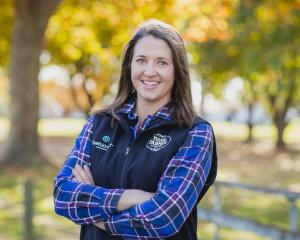 Georgie Lindsay is looking forward to the Young Farmer of the Year grand final. Photo: New...