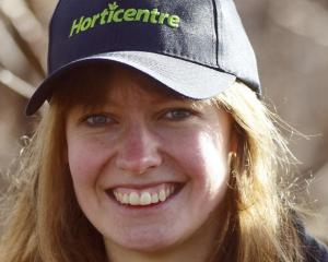 Ellen Watt is the Central Otago Young Fruitgrower of the Year. Photo: Ivor Earp-Jones