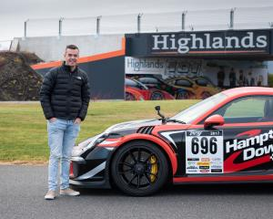 Reigning V8 Supercar champion Scott McLaughlin took his first drive around Highlands Motorsport...