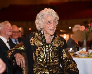 Shona Dunlop MacTavish at a function at the Regent Theatre in 2017. Photo: ODT files
