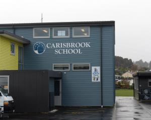 Carisbrook School, in South Rd, Dunedin. Photo: Linda Robertson