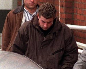 Gareth Lawrence Smither leaves court in 1997. PHOTO: ODT FILES