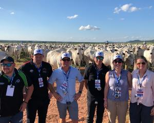 Young Leader, 2019 Jess Cairns (far right) has recently returned from an International Beef...