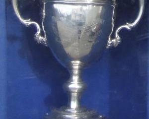 The White Horse Cup. Photo supplied.