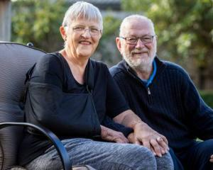 Joy Milmine is recovering at her Hamilton home with her husband Colin after she suffered a broken...