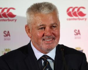Warren Gatland. Photo: Getty Images