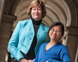University of Otago Prof Janet Hoek, with co-principal investigator Mei-Ling Blank, who have...