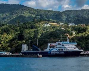 The Bluebridge at the Picton terminal. Photo: NZ Herald/file