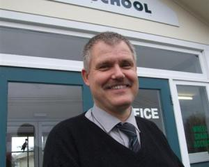 Newly appointed Oamaru North School principal Peter Roundhill. Photo by Sally Rae.