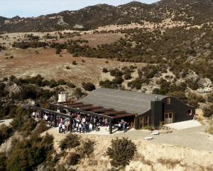 The Canyon restaurant building sits on the Bendigo site where it is proposed functions and...