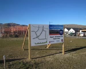 Almost half of the 78 sections at the Gair Ave subdivision in Cromwell have sold, netting the...