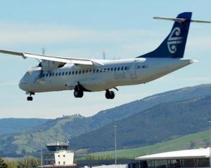 Passengers heard a bang and saw smoke while the cabin rattled on board the Tauranga-bound flight....
