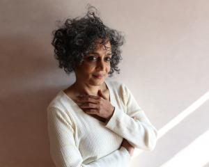 Writer Arundhati Roy. Photo: Mayank Austen Soofi