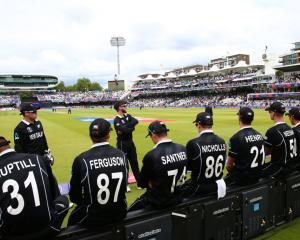 """New Zealand Captain Kane Williamson said the loss was """"truly devastating"""". Photo: Getty Images"""