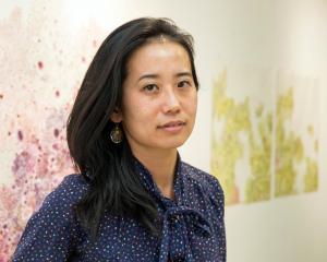 Yukari Kaihori has delved into traditional Japanese painting methods for her latest work below....