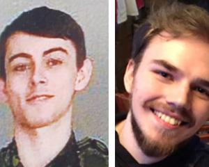Bryer Schmegelsky (left) and Kam McLeod are suspected of killing three people. Photo: Reuters