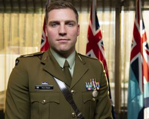 Major Cory Neale, of South Otago, has received a Defence Meritorious Service Medal for his...