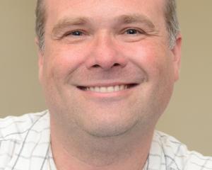 Prof Craig Rodger. PHOTO PETER MCINTOSH