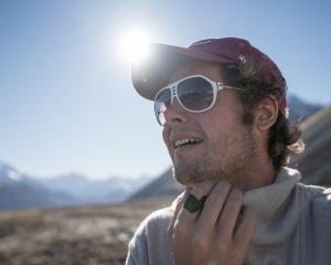 Tekapo entrepreneur Lucas Smith is launching the world's first adhesive wool bandages. Photos:...