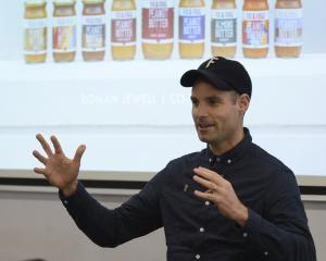 Fix and Fogg founder Roman Jewell describes his love of making peanut butter, at the University...
