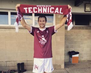 Tristan Prattley made his return to Dunedin Technical in the weekend in a 3-1 win over Green...