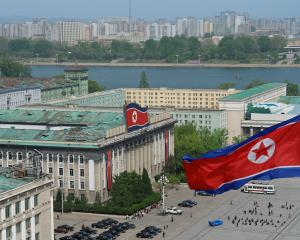Kim Il Sung Square in Pyongyang. Photo: Getty Images