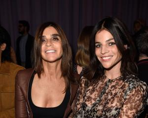"""My kids are well brought up because I was so tough with them"": Carine Roitfeld and daughter..."