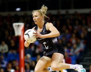 Silver Ferns captain Laura Langman. Photo: Getty Images