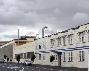 Hillside workshops in South Dunedin. Photo: ODT