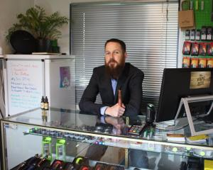 Vape Box owner Craig Dawson opened the first dedicated vape shop in Invercargill in 2016. Photo:...