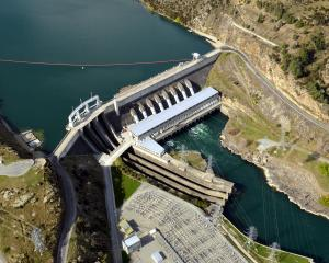 Roxburgh Dam. PHOTO: ODT FILES